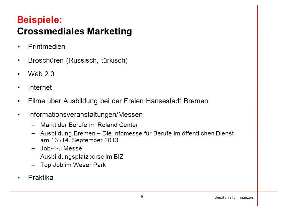 Beispiele: Crossmediales Marketing
