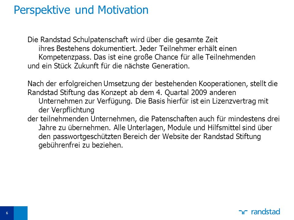 Perspektive und Motivation