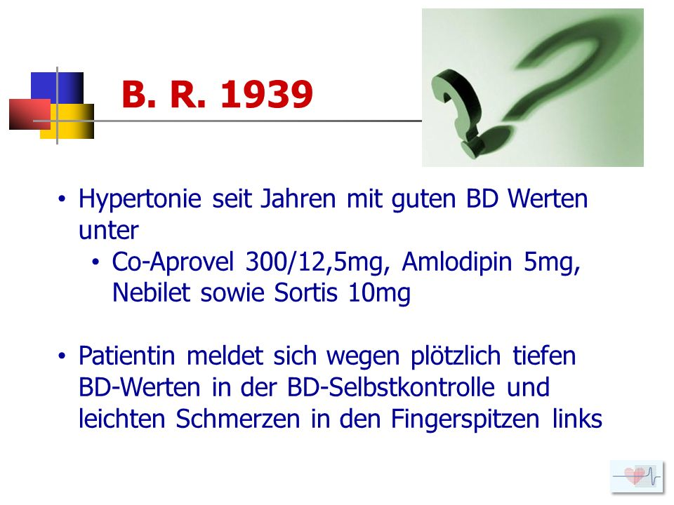 Hypertonie seit Jahren mit guten BD Werten unter