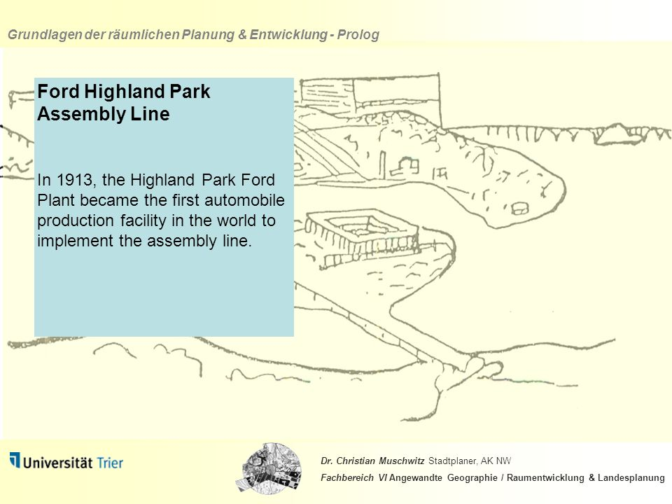 Ford Highland Park Assembly Line
