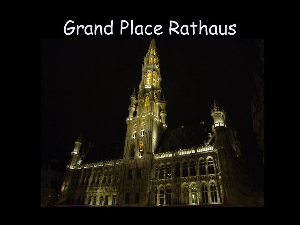Grand Place Rathaus