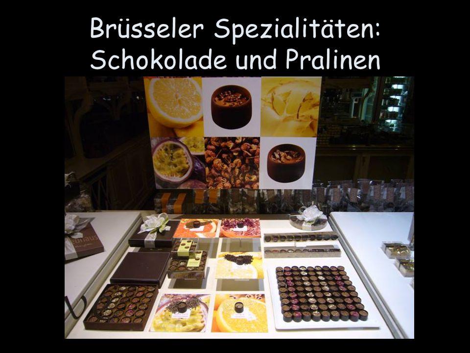 Brüsseler Spezialitäten: Schokolade und Pralinen