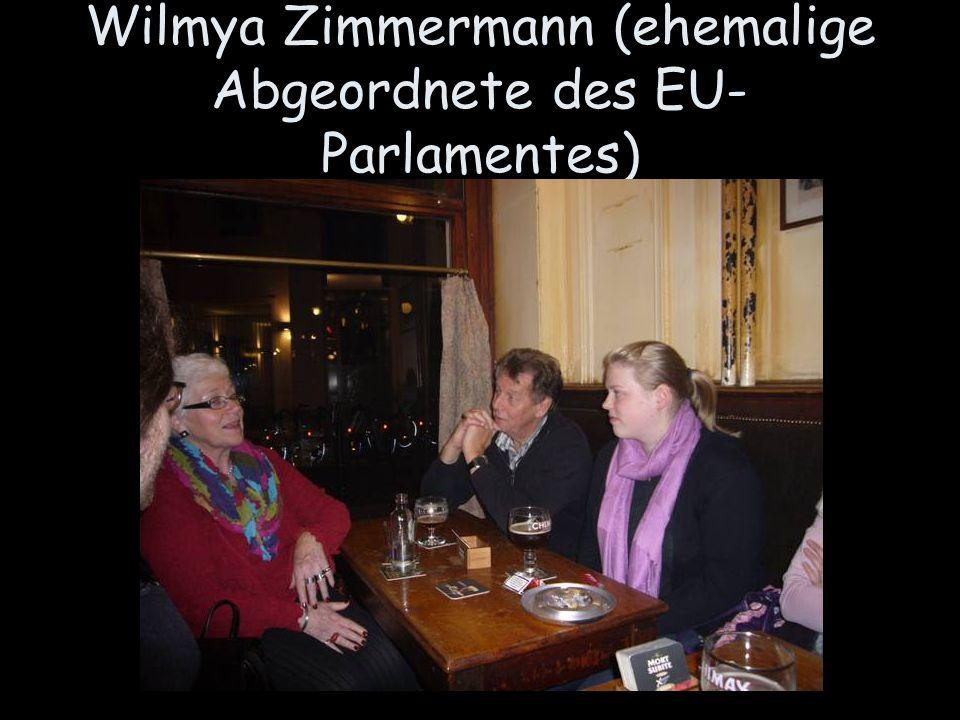 Wilmya Zimmermann (ehemalige Abgeordnete des EU-Parlamentes)