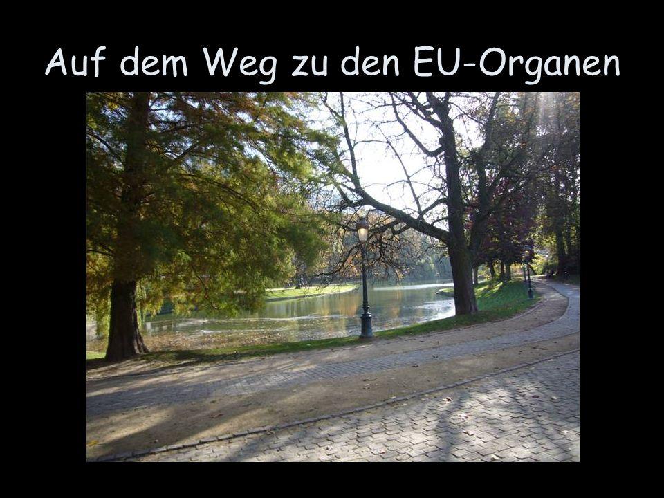 Auf dem Weg zu den EU-Organen