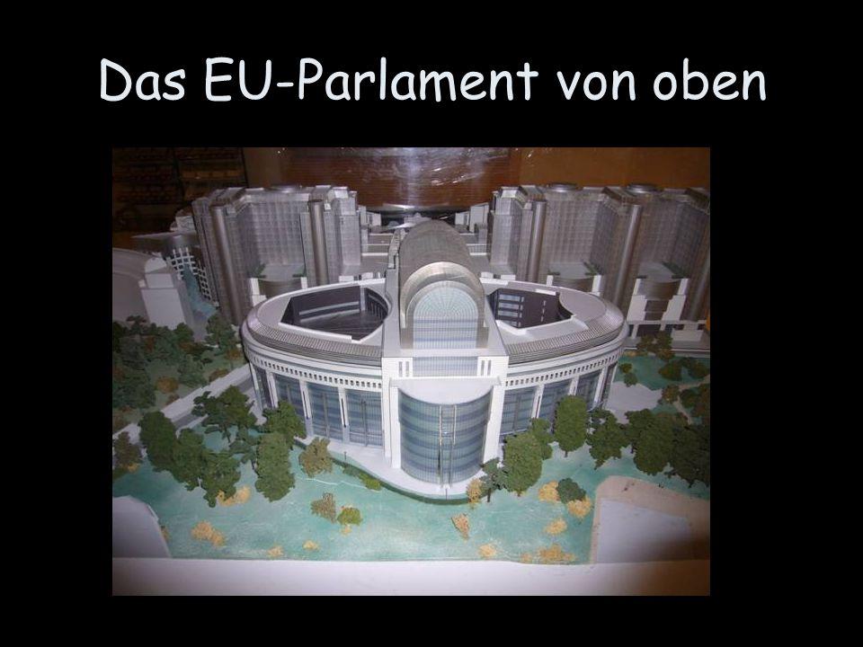 Das EU-Parlament von oben