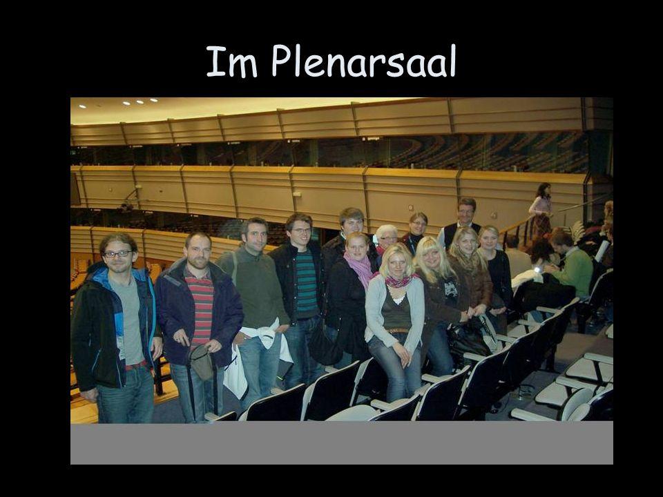 Im Plenarsaal