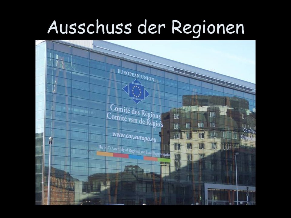 Ausschuss der Regionen