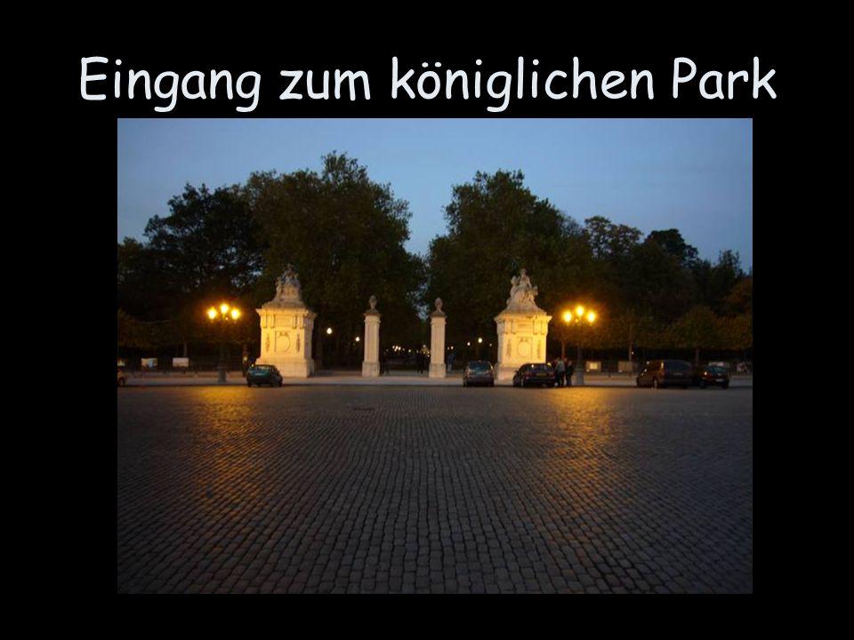 Eingang zum königlichen Park