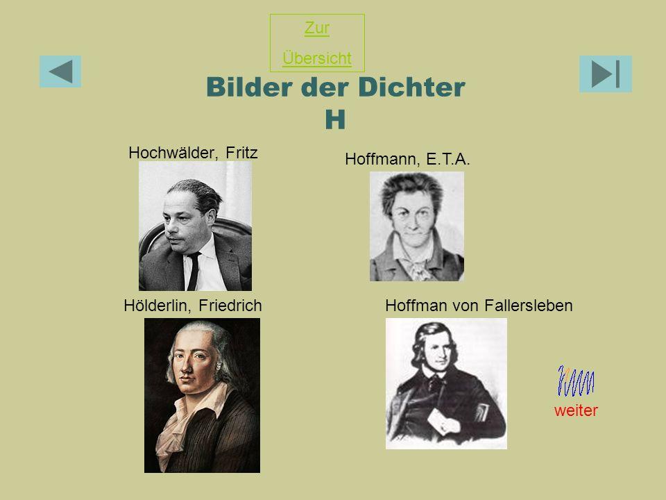Hoffman von Fallersleben