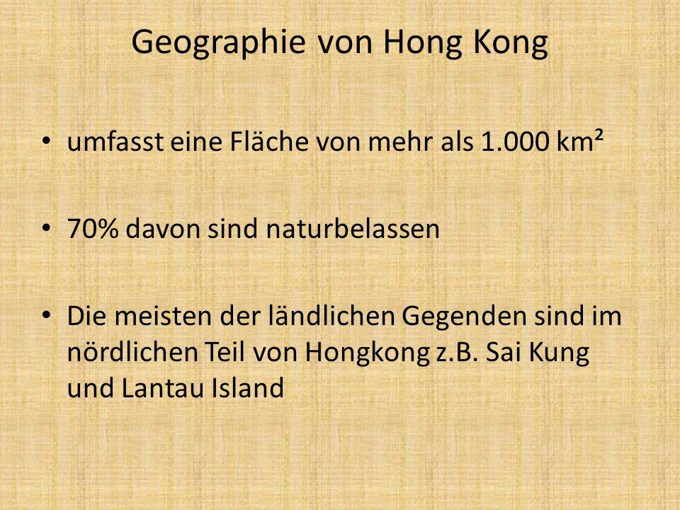 Geographie von Hong Kong