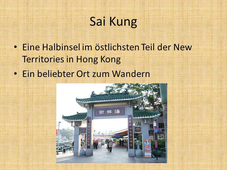 Sai Kung Eine Halbinsel im östlichsten Teil der New Territories in Hong Kong.