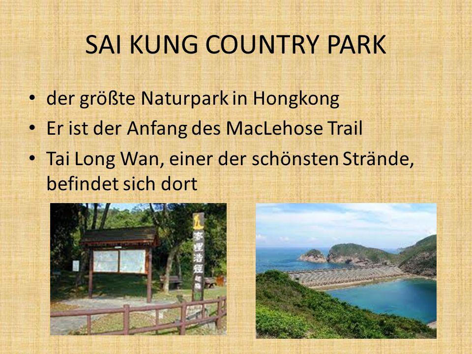 SAI KUNG COUNTRY PARK der größte Naturpark in Hongkong