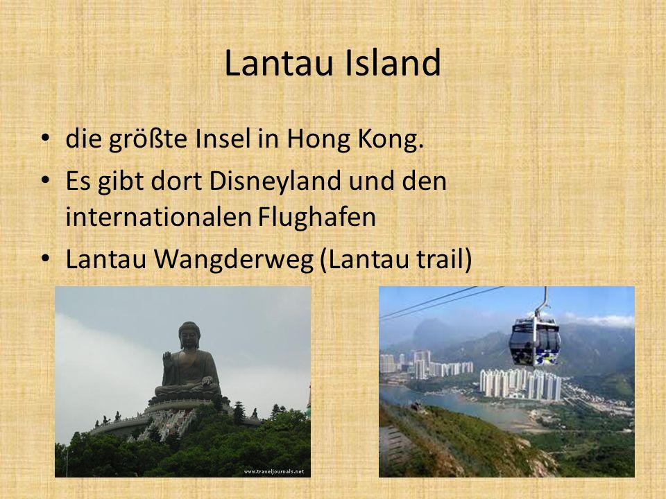 Lantau Island die größte Insel in Hong Kong.