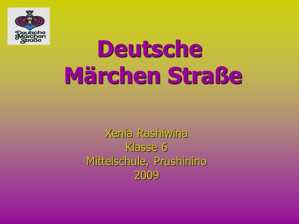 Deutsche Märchen Straße