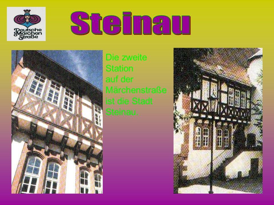 Steinau Die zweite Station auf der Märchenstraße