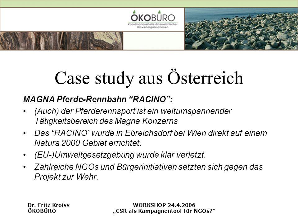 Case study aus Österreich