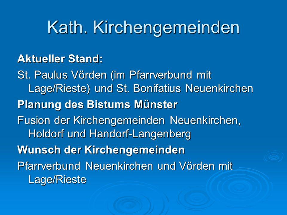 Kath. Kirchengemeinden
