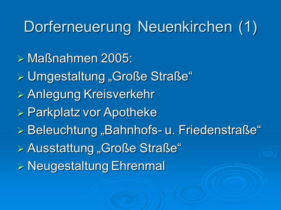 Dorferneuerung Neuenkirchen (1)