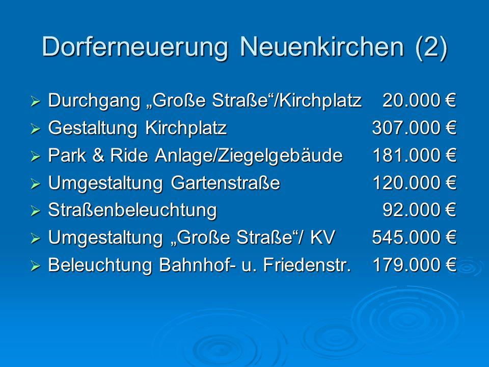 Dorferneuerung Neuenkirchen (2)