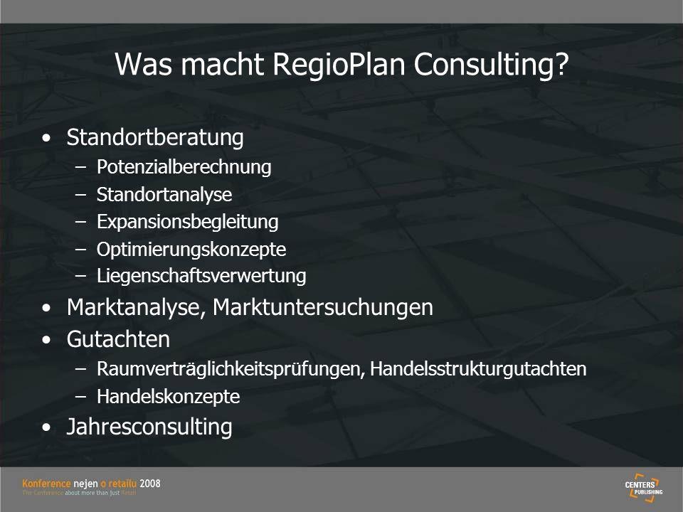 Was macht RegioPlan Consulting