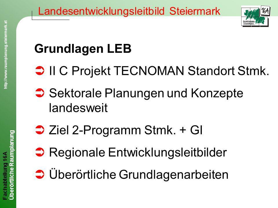 II C Projekt TECNOMAN Standort Stmk.