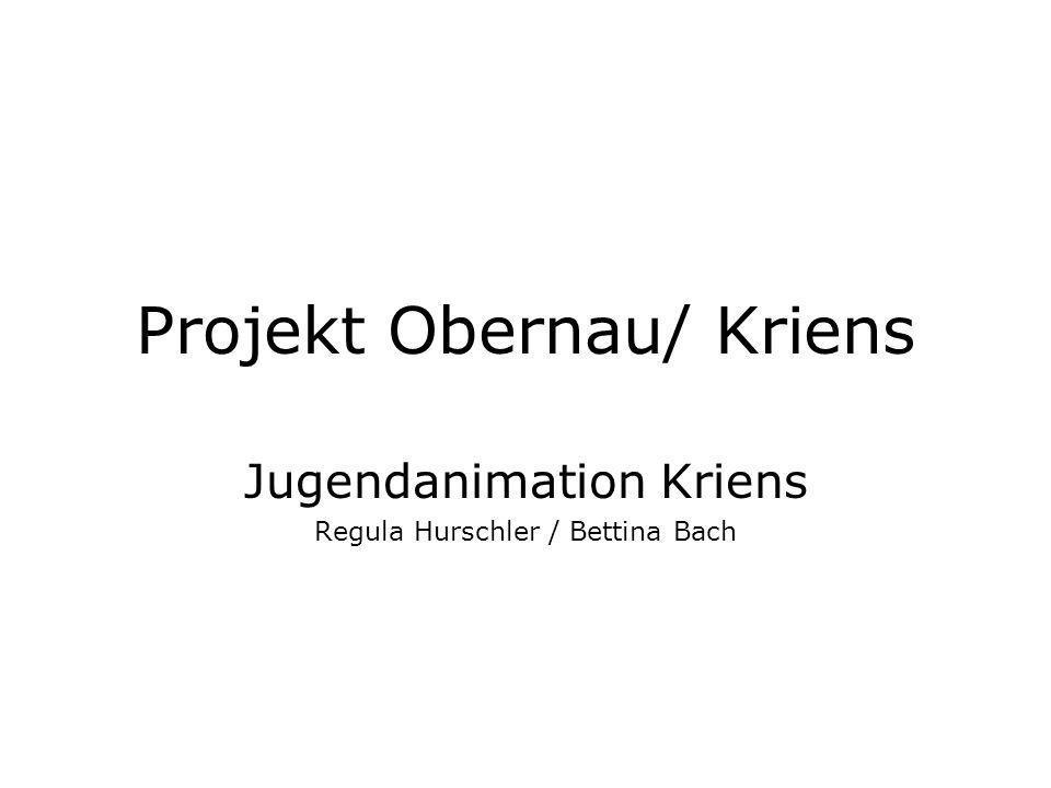 Projekt Obernau/ Kriens