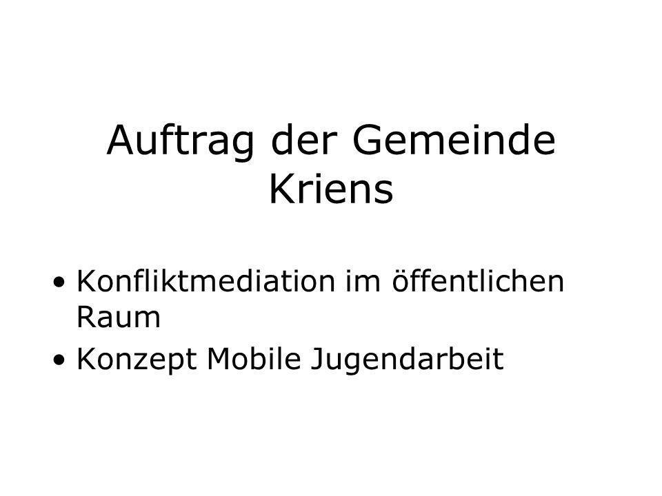 Auftrag der Gemeinde Kriens