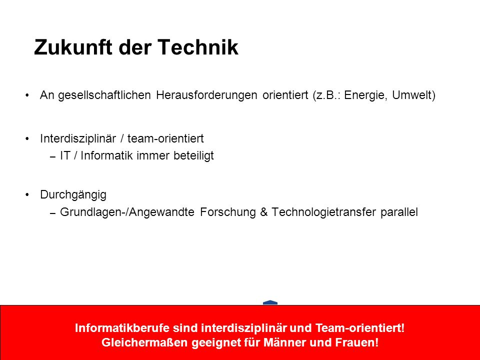 Zukunft der Technik (Fraunhofer–Zukunftsgebiete)