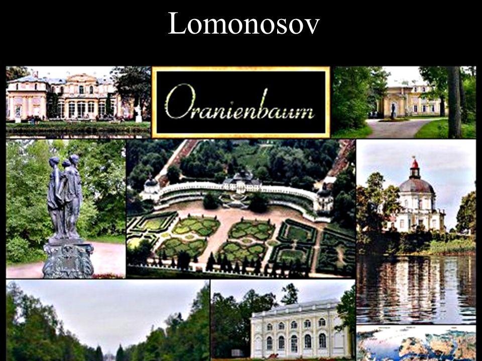 Lomonosov- Лосмошоносов - Ораниенбаум