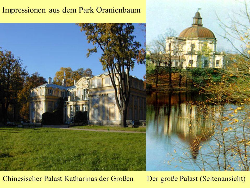 Impressionen aus dem Park Oranienbaum