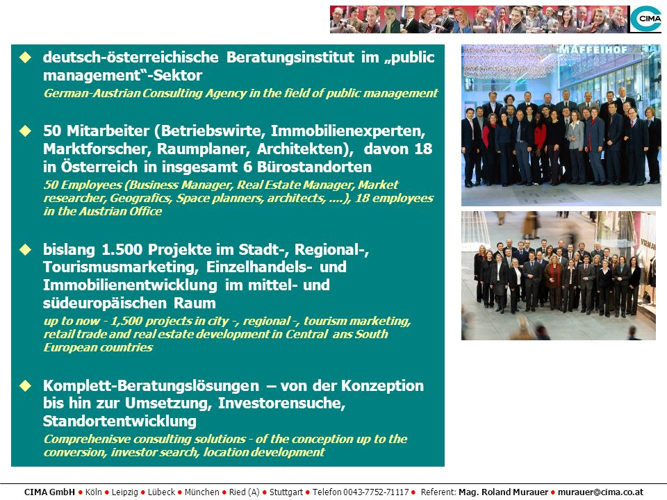 """deutsch-österreichische Beratungsinstitut im """"public management -Sektor"""