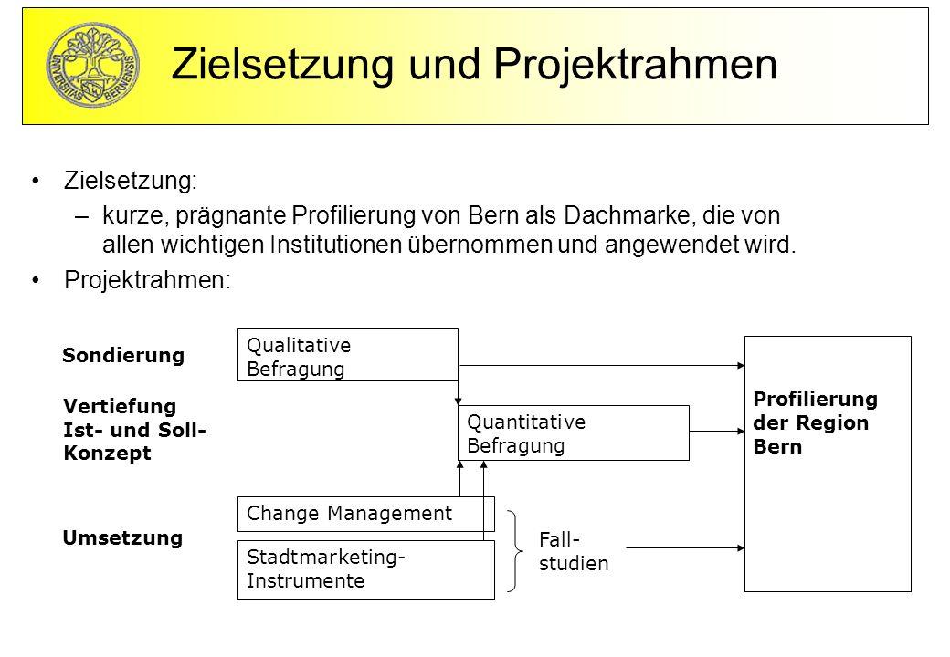Zielsetzung und Projektrahmen
