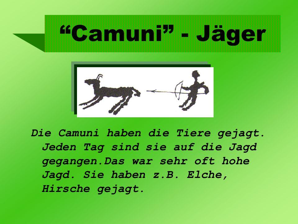 Camuni - Jäger