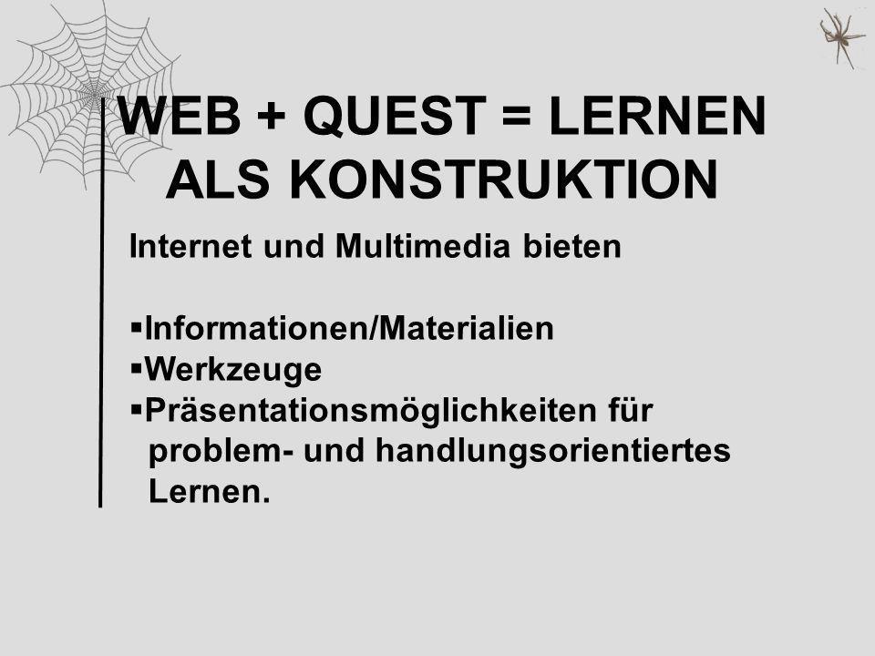 WEB + QUEST = LERNEN ALS KONSTRUKTION