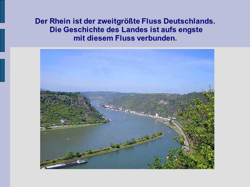 Der Rhein ist der zweitgrößte Fluss Deutschlands