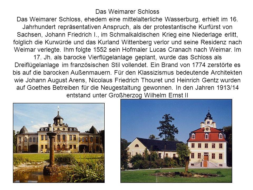 Das Weimarer Schloss
