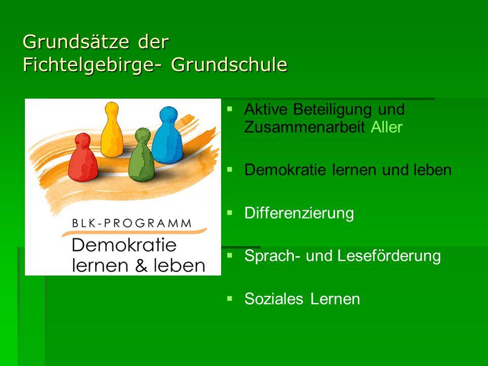 Grundsätze der Fichtelgebirge- Grundschule