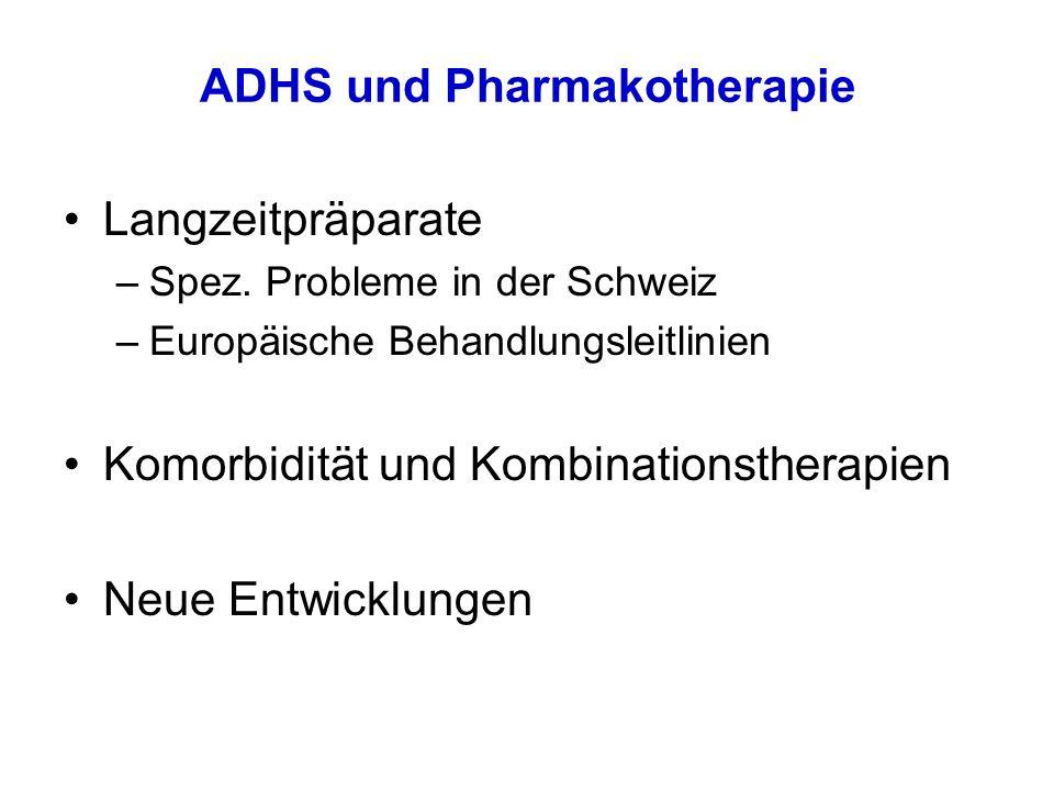 ADHS und Pharmakotherapie