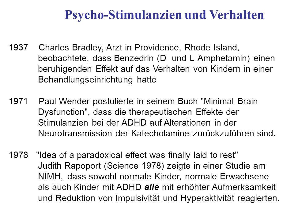 Psycho-Stimulanzien und Verhalten