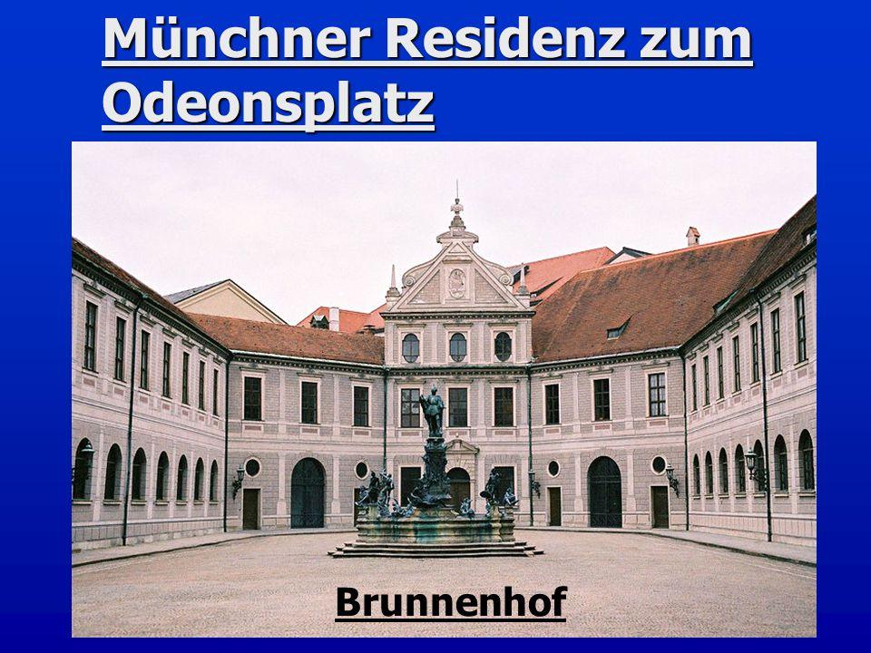 Münchner Residenz zum Odeonsplatz