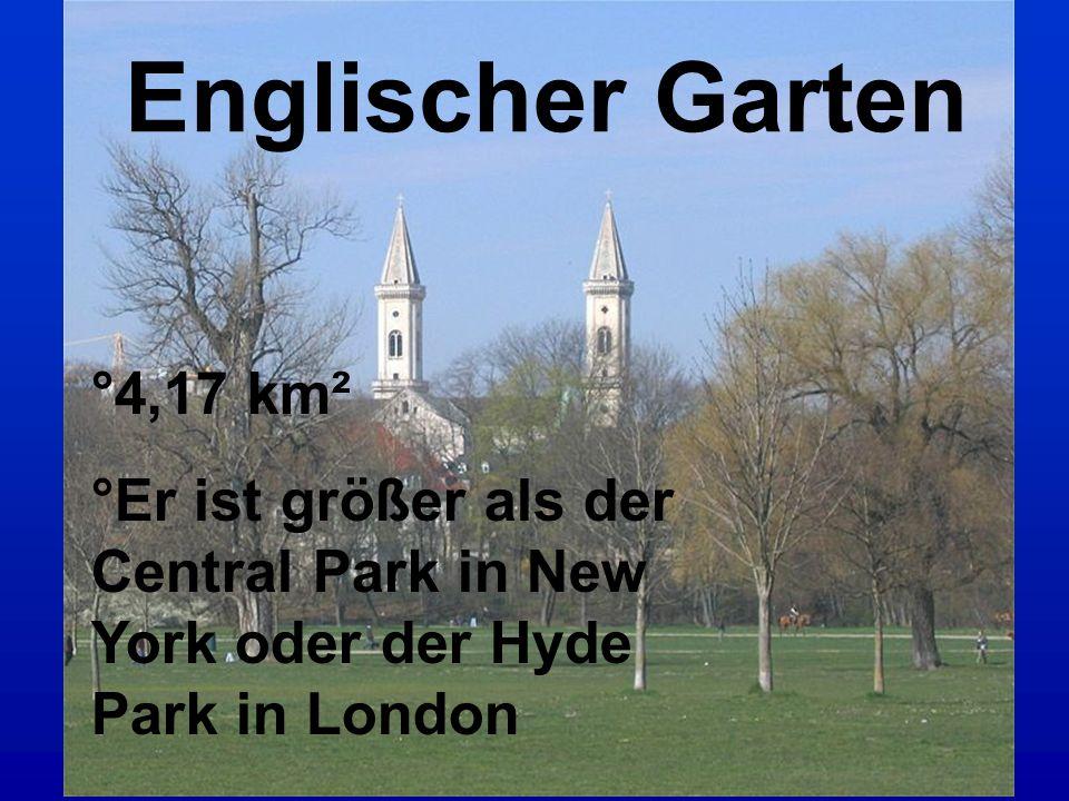 Englischer Garten °4,17 km²