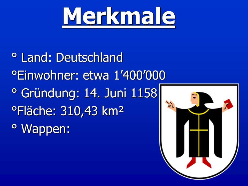 Merkmale ° Land: Deutschland °Einwohner: etwa 1'400'000