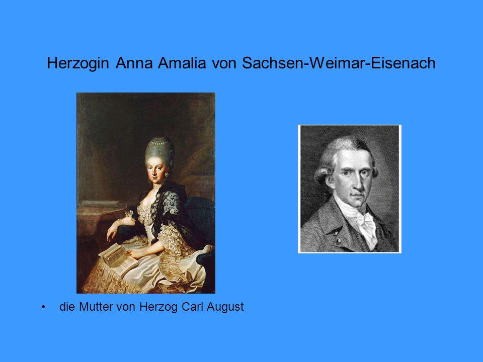 Herzogin Anna Amalia von Sachsen-Weimar-Eisenach