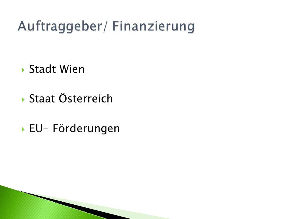 Auftraggeber/ Finanzierung