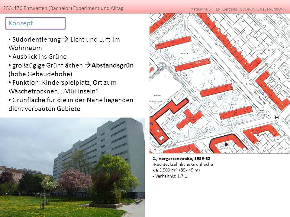großzügige Grünflächen Abstandsgrün (hohe Gebäudehöhe)