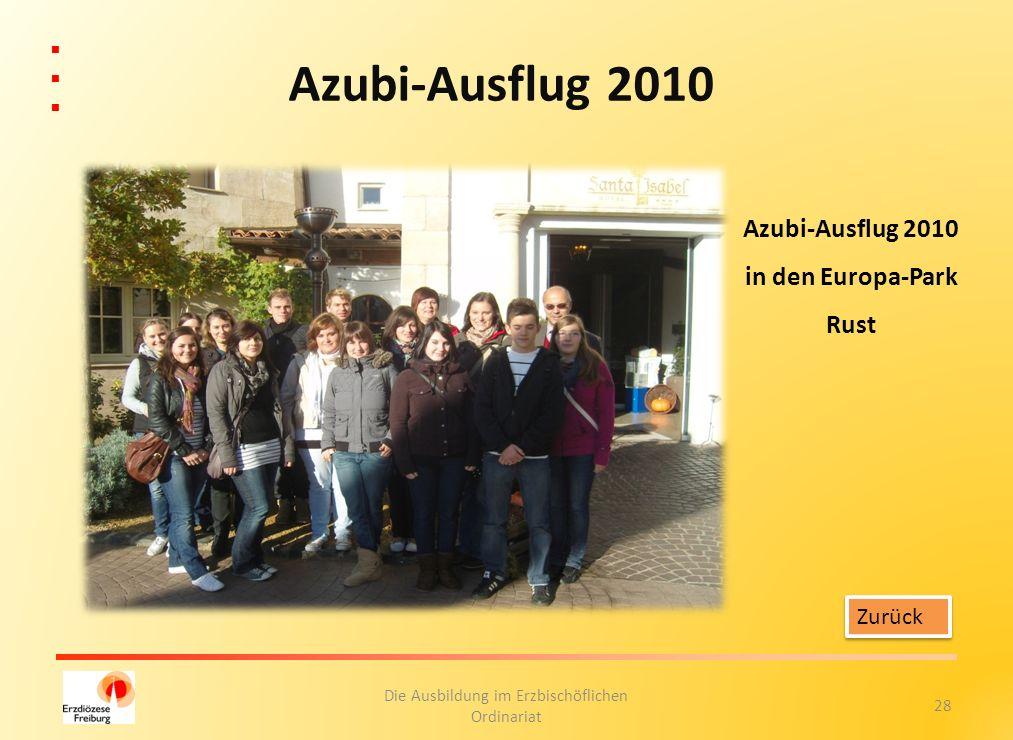 Azubi-Ausflug 2010 in den Europa-Park Rust