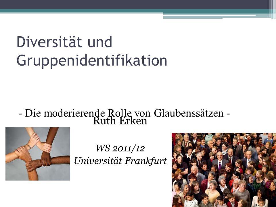Diversität und Gruppenidentifikation