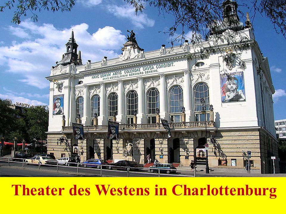 Theater des Westens in Charlottenburg