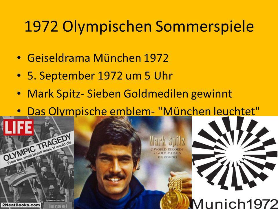 1972 Olympischen Sommerspiele