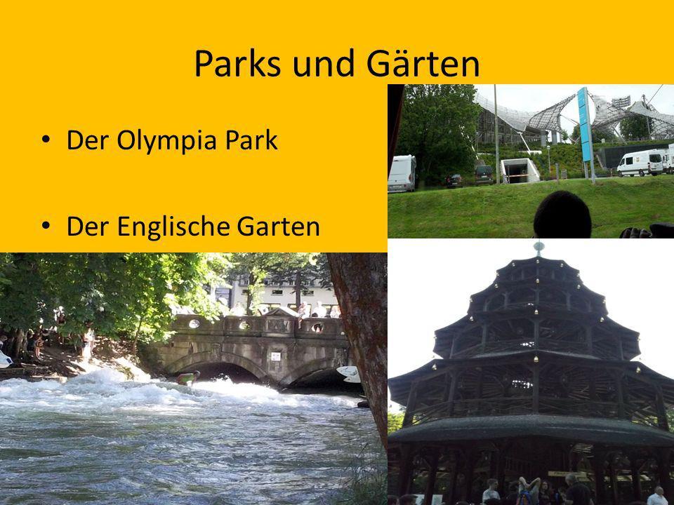 Parks und Gärten Der Olympia Park Der Englische Garten